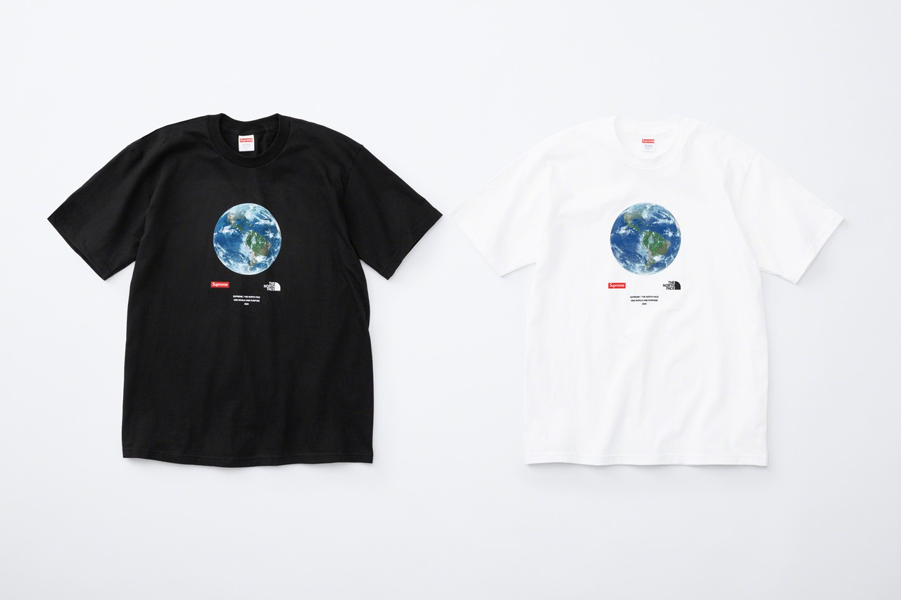 Supreme The North Face Spring Drop 2 One World Tee collaboration charity coronavirus covid 19 relief aid outwear accessories