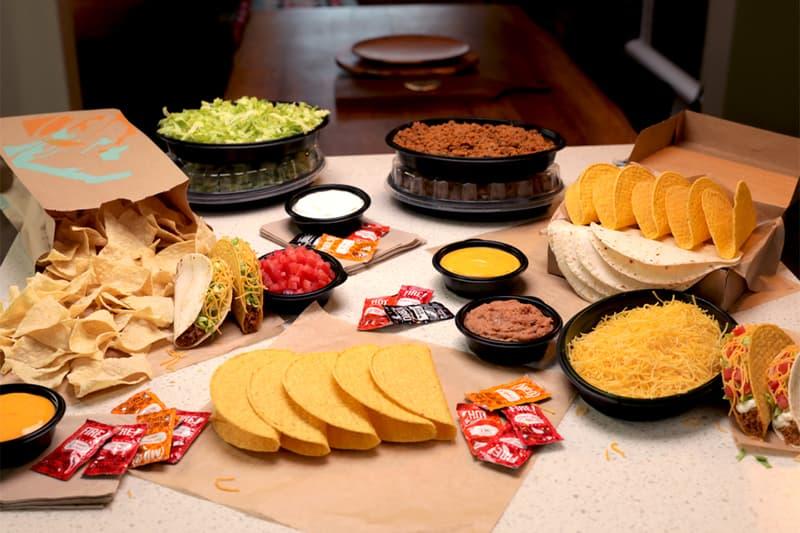 Taco Bell At Home Taco Bar Kits News live mas cinco de mayo double decker