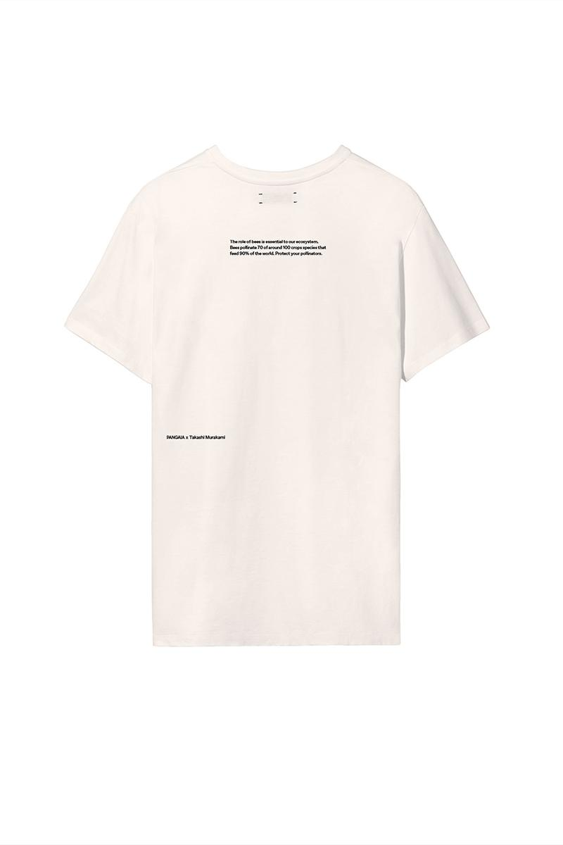 Takashi Murakami x PANGAIA World Bee Day 2020 Capsule Collection Sustainability GOTS Cotton Milkywire Bee the Change Fund Flower Ball Saffron Yellow Cobalt Blue Orchid Purple Release Information