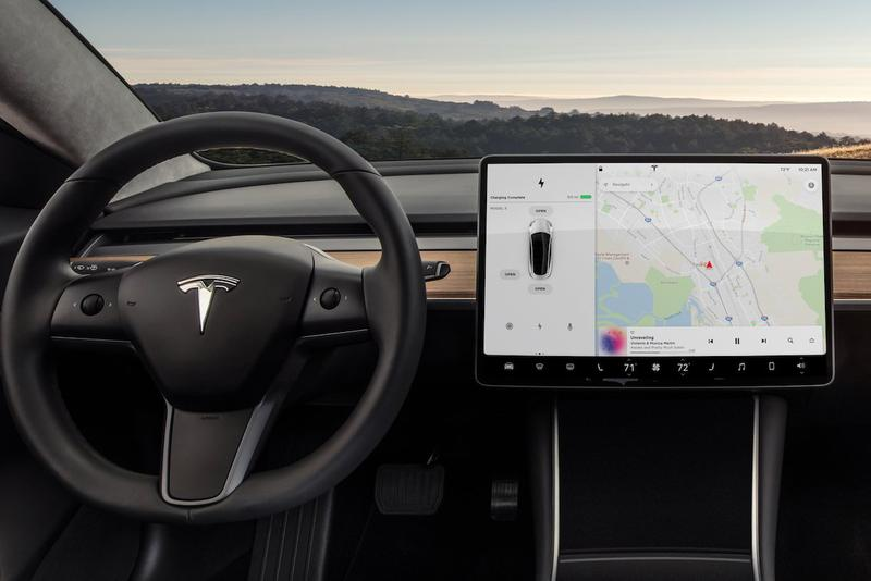Tesla Video Calling Confirmed by Elon Musk car zoom conference display