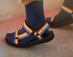 Teva Launches Rainbow-Hued Sandal Pack for Pride Month 2020