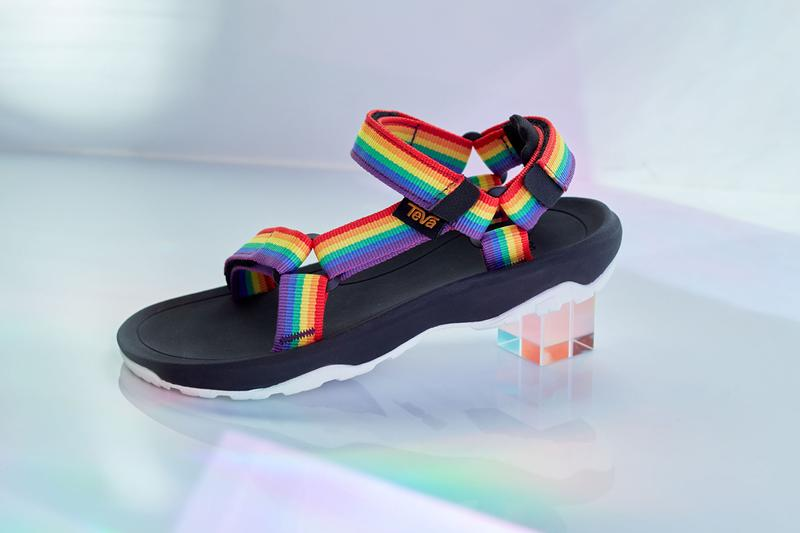 teva pride month rainbow sandals sandal pack release summer 2020 it gets better initiative lgbtq original universal flatform