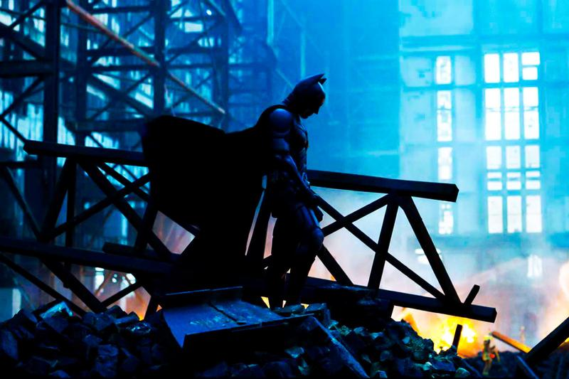 Warner Bros. Dark Knight Trilogy Christopher Nolan Hong Kong Batman Christian Bale