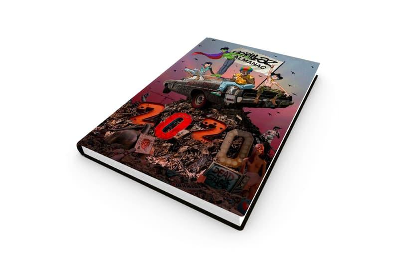 The Gorillaz Almanac Release Info book 2D Noodle Murdoc Niccals Russel Hobbs Damon Albarn Jamie Hewlett the now now
