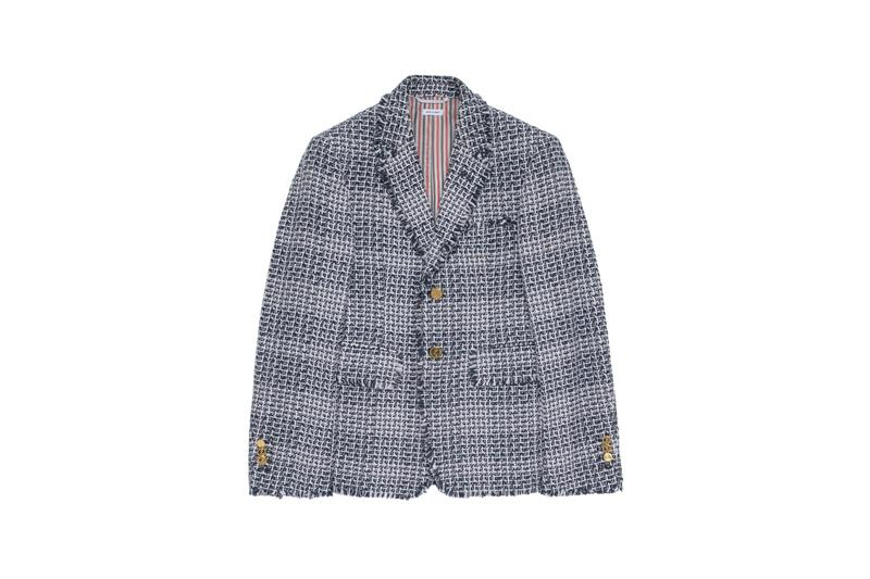 thom browne joyce hong kong harbour city store opening collection exclusive capsule cardigans blazers americana american stripes preppy varsity