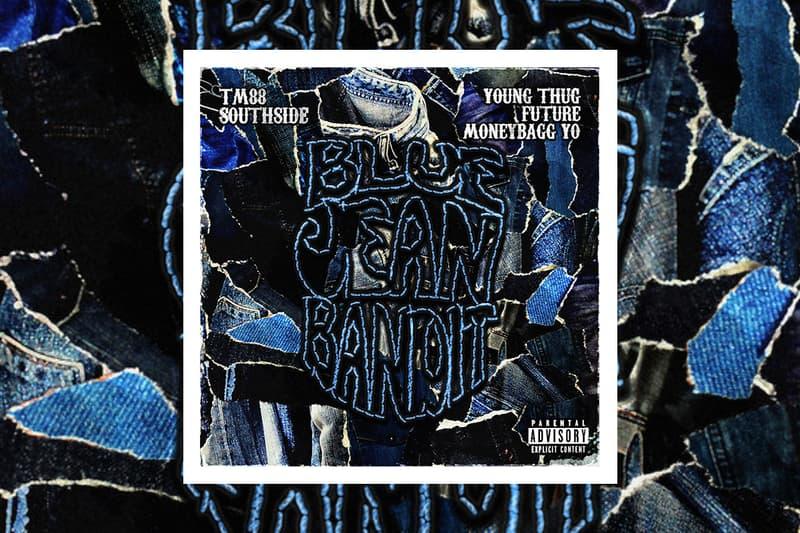 "TM88, Southside & Moneybagg Yo ""Blue Jean Bandit"" single stream future young thug listen now spotify apple music hip-hop trap rap"