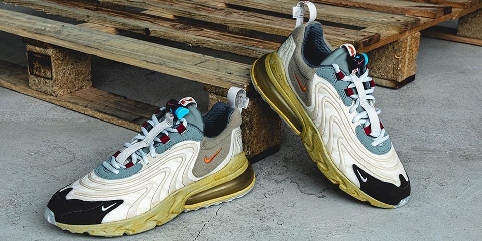 """A Closer Look at Travis Scott's Nike Air Max 270 React """"Cactus Trail"""""""