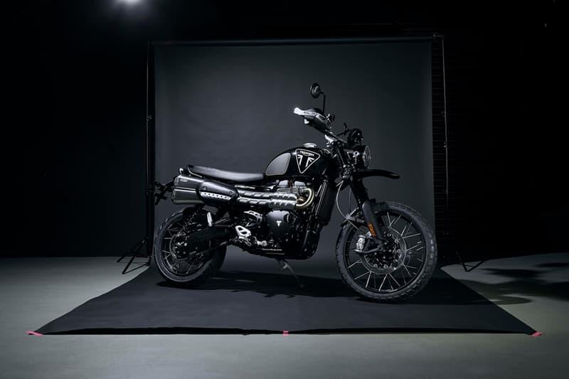 triumph scrambler 1200 james bond limited edition motorcycle bike no time to die daniel craig