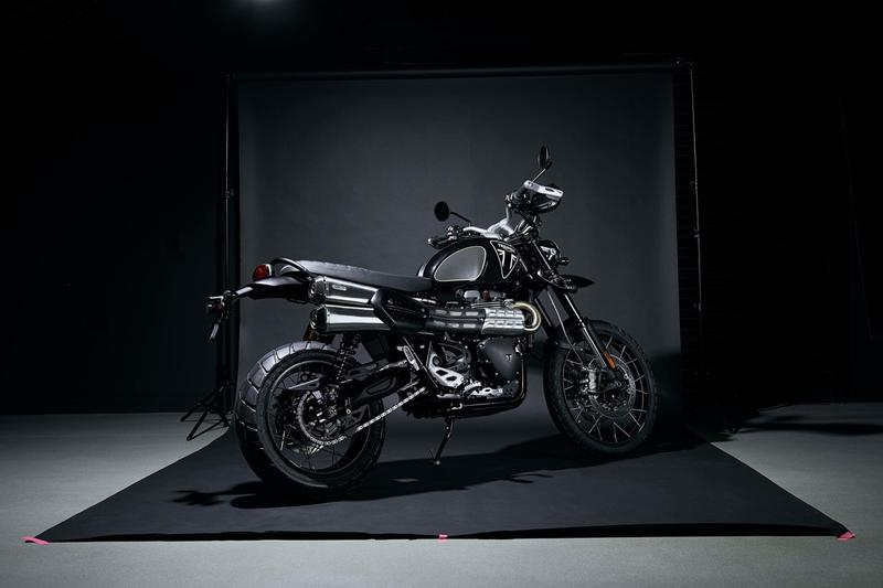 triumph scrambler 1200 james bond limited edition motorcycle bike no time to die daniel craig