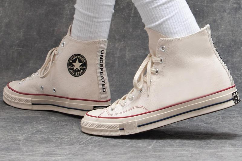 undefeated converse chuck taylor 70 hi fundamentals program collection white black blue red official release date info photos price store list