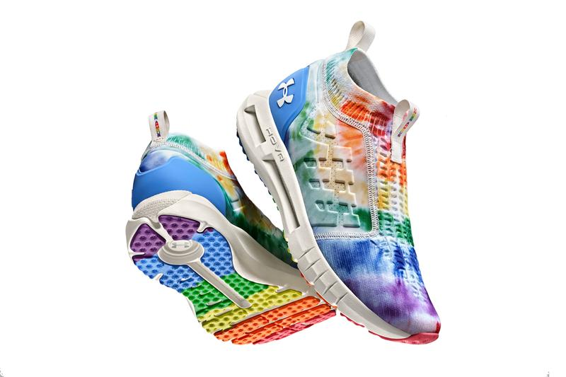 under armour pride month 2020 collection hovr phantom slip 1 tie dye apparel official release date info photos price store list