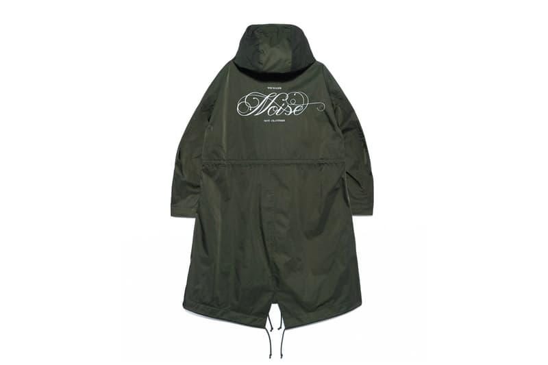 UNDERCOVER Basic NOISE WE MAKE NOISE NOT CLOTHES Release Info T shirt Parka Shirt