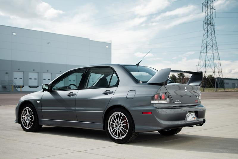 Unmodified Mitsubishi Lancer Evolution IX Auction Info Buy Price