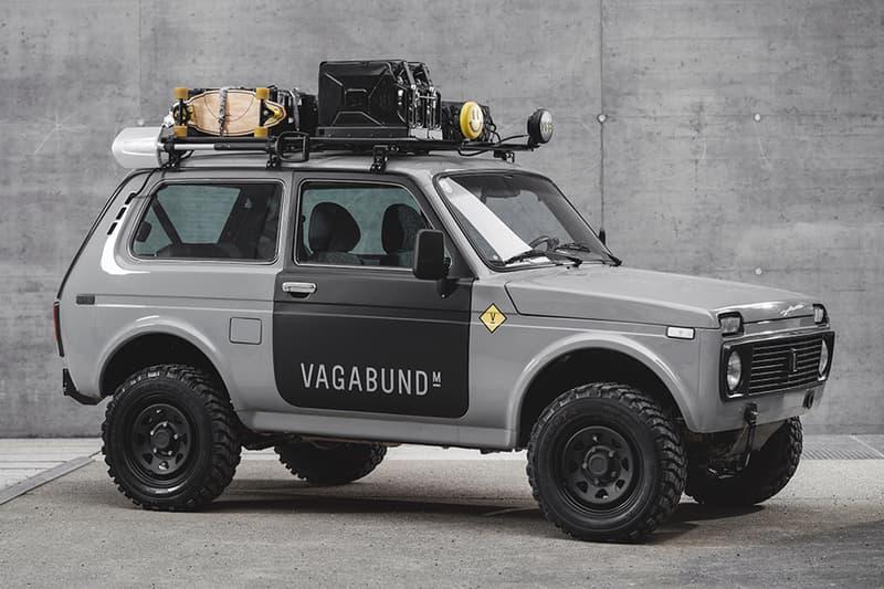 vagabund moto custom workshop russian lada niva off road 4x4 four wheel drive car Release info