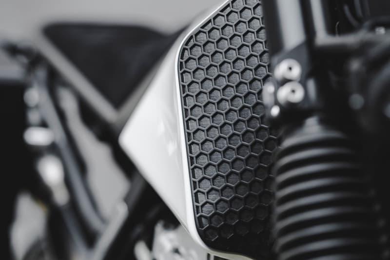 Vagabund Moto V13 1991 Honda NX650 Motorcycle dominator custom workshop customization build 3d printed mad max aesthetic