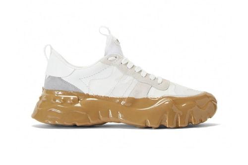 Valentino's Rockrunner Plus Sneaker Receive Mud-Like Detailing