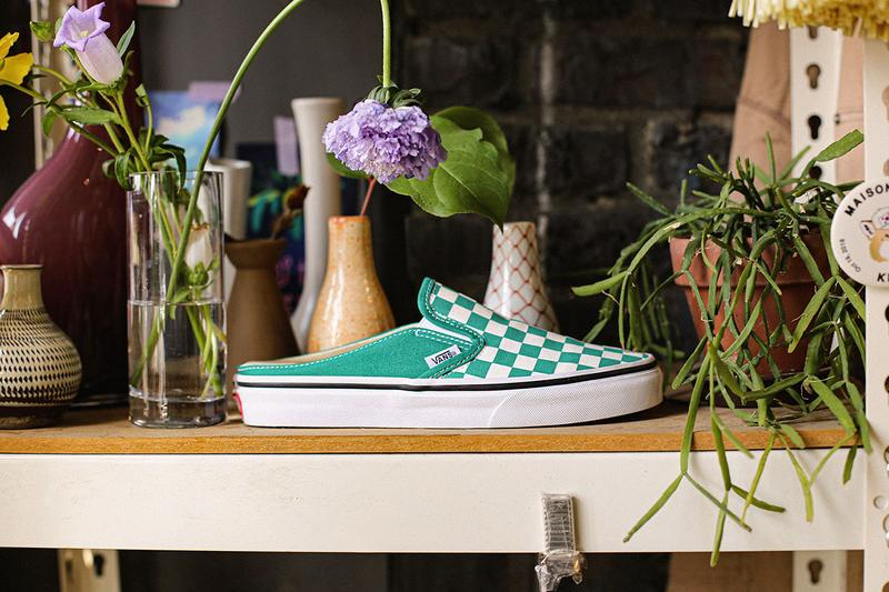 Vans Mule Family Pack Release Info slip on old skool traditional checkerboard pattern iconic silhouettes