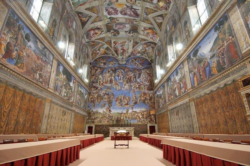 vatican museums social distancing measures coronavirus pandemic sistine chapel michelangelo