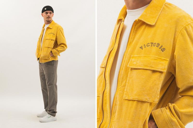 VICTORIA Hong Kong FW20 Collection Lookbook cut and sew skateboarding outerwear workwear jackets puffer jackets corduroy Streetwear fashion