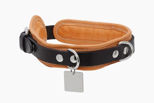 Guidi Leather Dog Collar