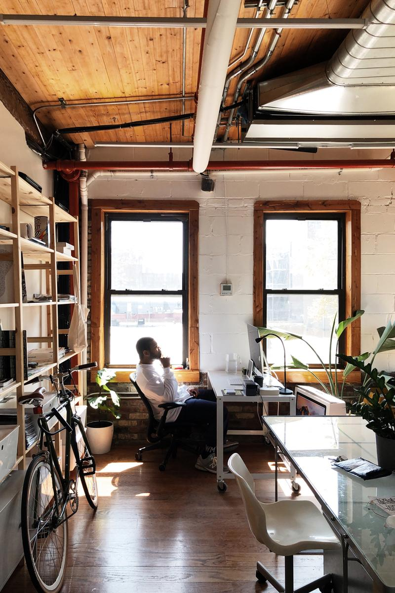 Work From Home Style Advice Manual Photo NYC staff cameras interview