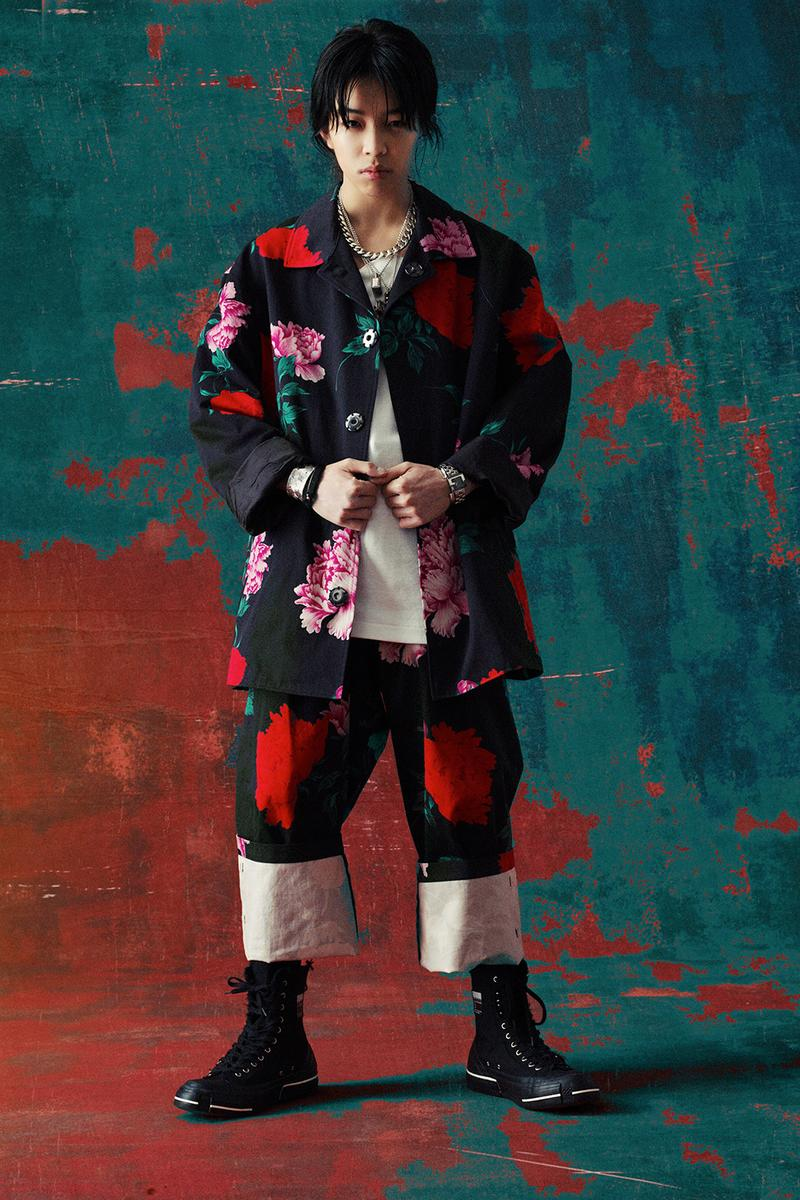 Yohji Yamamoto Replica Spring/Summer 1996 Capsule release info collection avant garde menswear SS96 flowers rayon cotton lookbook