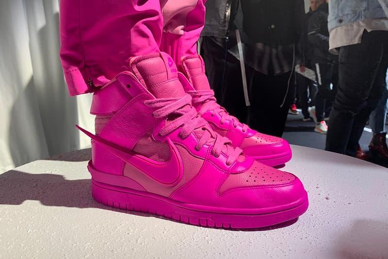 Yoon AMBUSH Nike Dunk More Colorways Teaser Release info Date Buy Price
