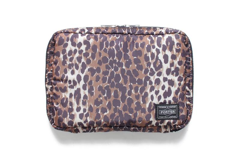 WACKO MARIA x PORTER JET Bag Collection snake print animal print accessories leopard cheetah bags Japan Tokyo