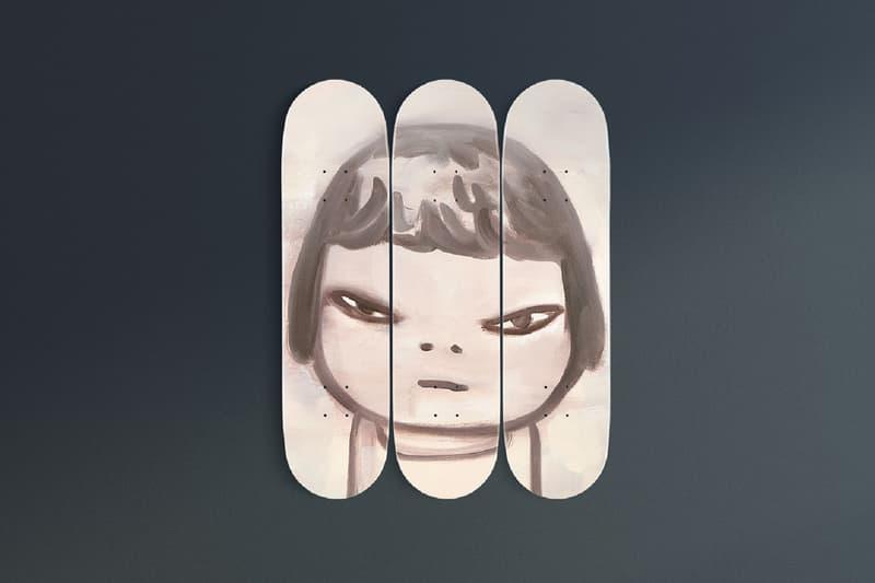 yoshitomo nara the skateroom skateboard decks los angeles county museum of art lacma collectibles artworks