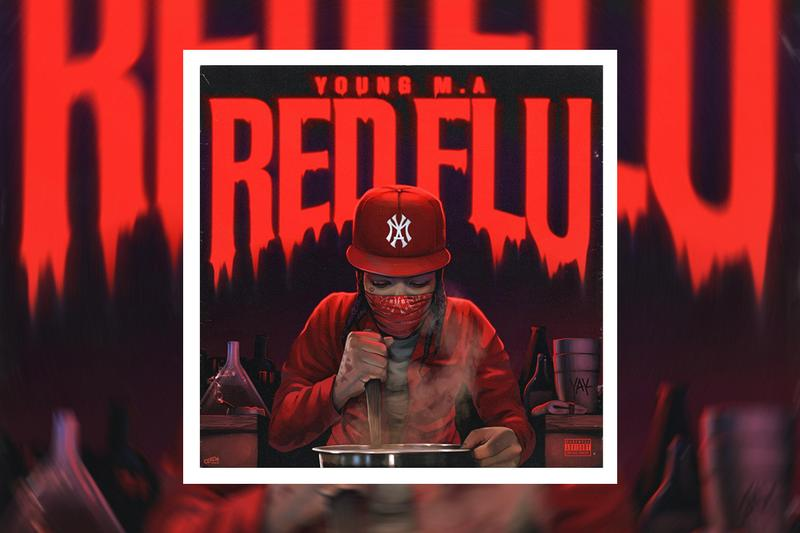 Young M A Red Flu Album Stream ma mike zombie herstory in the making