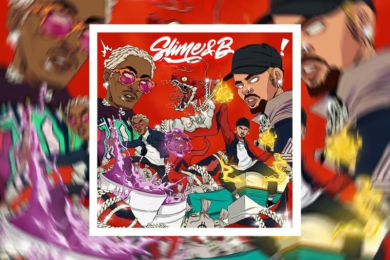 Young Thug & Chris Brown 'Slime & B' Mixtape Stream hip-hop rap trap r&B listen now thugger thugga  E-40, Future, Gunna, HoodyBaby, Lil Duke, Major 9, Shad da God & Too $hort