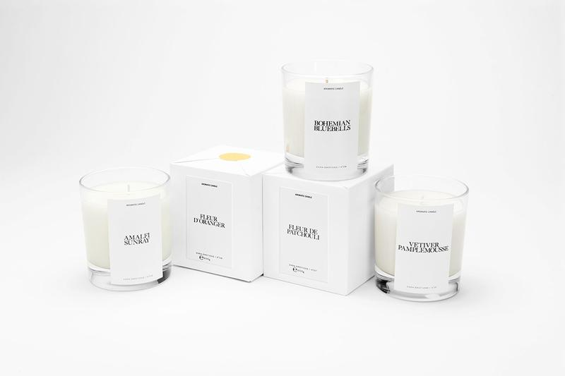 Zara x Jo LOVES by Jo Malone Fragances Home Scents Candles Aftershave Perfume Unisex Smells Affordable Summer The Zara Emotions Collection by Jo LOVES Ezra Petronio Self Service Magazine Branding Packaging Eco Friendly