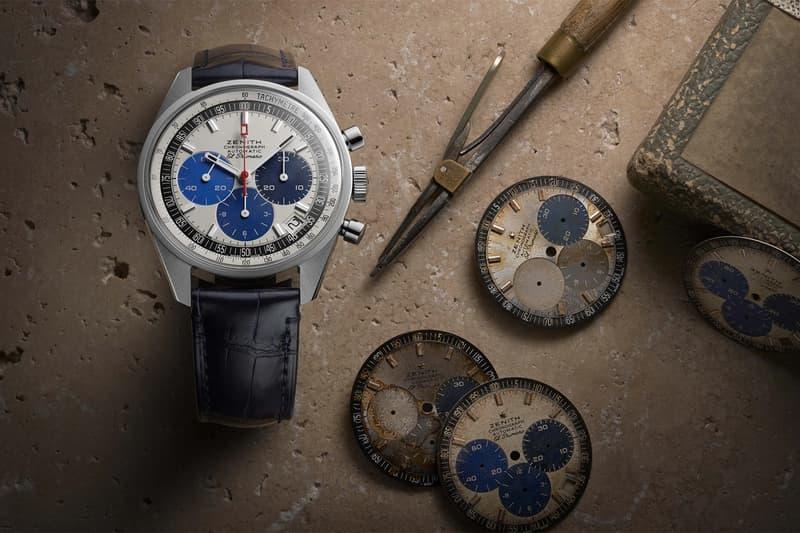 zenith watches el primero chronomaster revival manufacture edition chronograph timepiece accessories