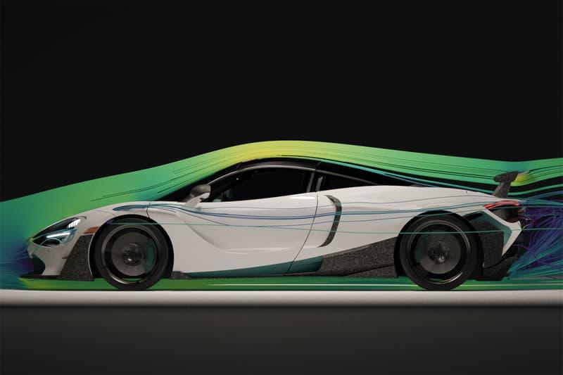 1016 Industries 3D Printed McLaren 720S Supercar Three Dimensional Components Bodykit British Sportscar Development Exotic Car Computational Fluid Dynamics