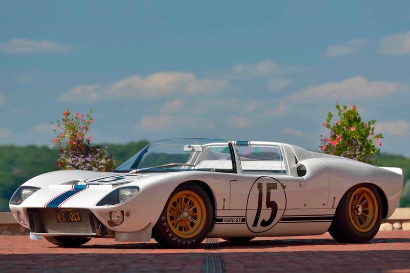1965 Ford GT Competition Prototype Roadster GT/109 Mecum Auctions $7.5 million USD $10m USD 24 Hours of Le Mans Cobra-spec 289 Maurice Trintignant Guy Ligier Race Car Supercar Classic