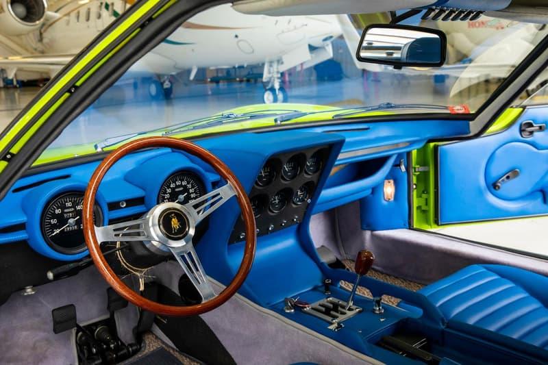 1968 Lamborghini Miura P400 Auction Details Green Verde Super Car World's First