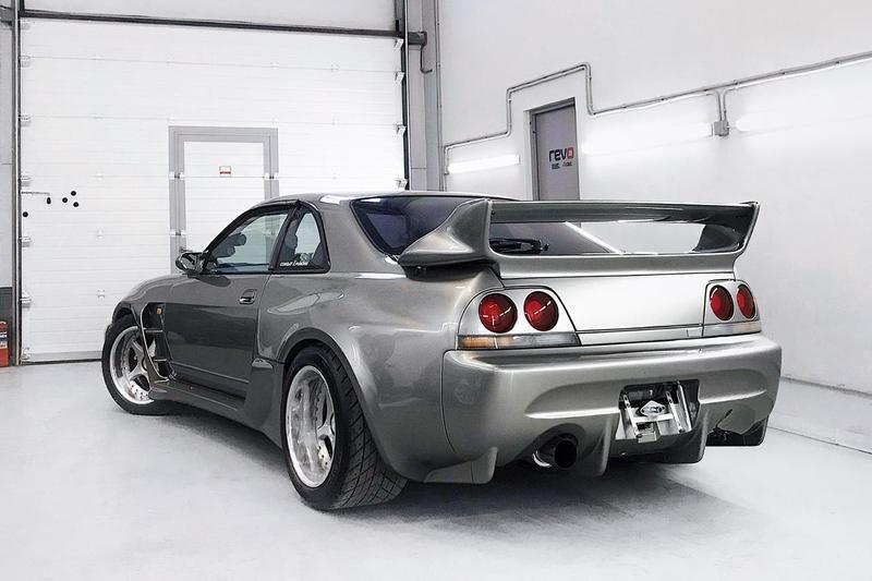 1995 Nissan Skyline GT-R R33 Veilside Combat Evolution $120,000 USD Custom Build 1996 Tokyo Auto Salon Japanese Automotive JDM Supercar Sportscar Vistec R Imports