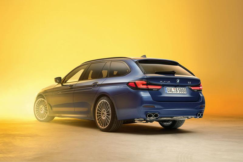 2020 Alpina B5 and D5 S Unveiled with Increased Power bmw m5 horsepower styling twin-turbo 4.4-liter BMW V8 3.0-liter inline-six diesel engine