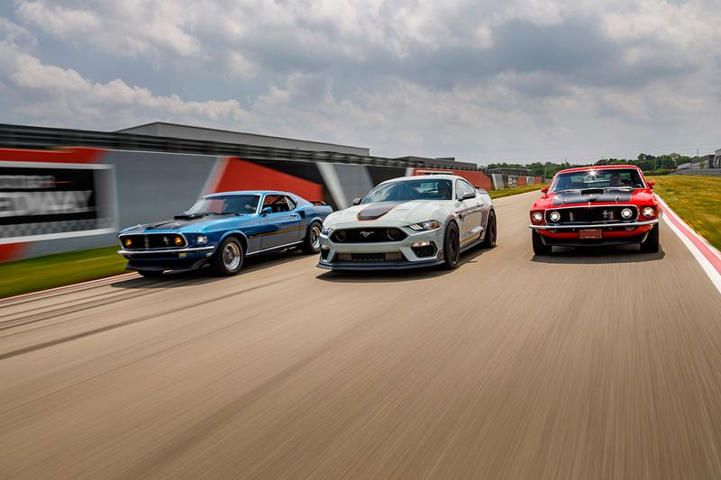 Ford Mustang Mach 1 Returns for 2021 American Muscle Car USA Sportscar News Models Performance Figures V8 Engine Pony GT Shelby GT350 GT500