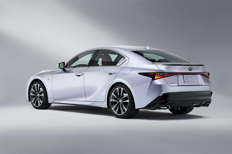 Lexus Unveils 2021 IS and IS Sport Sedans INFO specs details images pictures Driving Signature