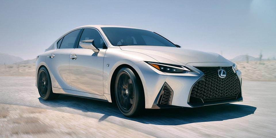 lexus unveils 2021 is and is sport sedans  hypebeast