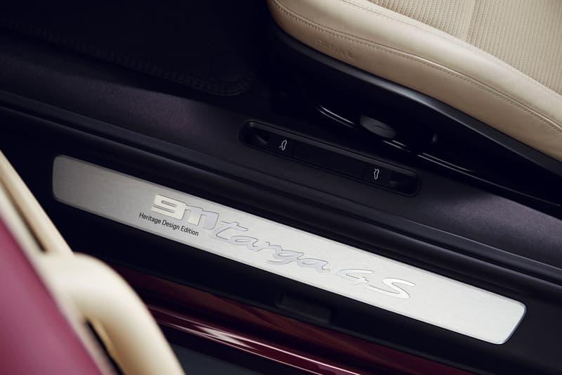 2021 Porsche 911 Targa 4S Heritage Design Edition Release Info Unveil Date Price Red