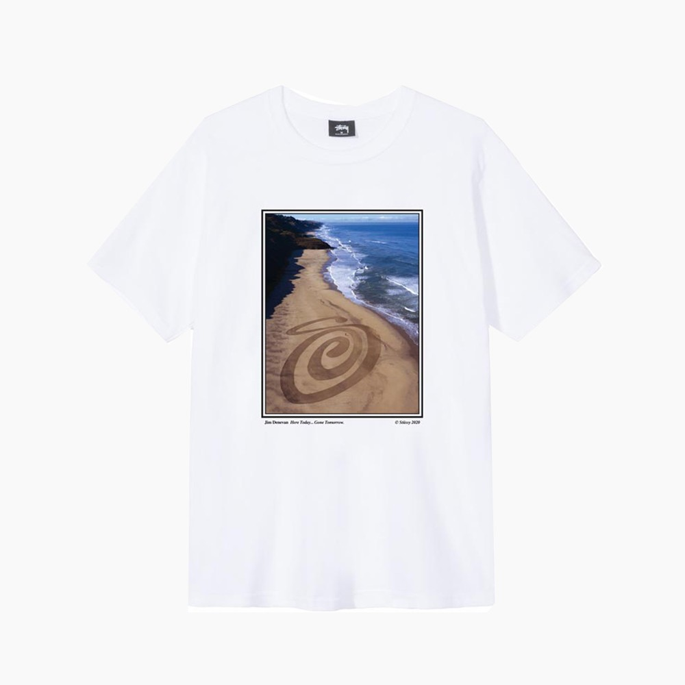 Stüssy x Jim Denevan for Summer 2020 T-Shirt Release Where to buy Price 2020 Collaboration