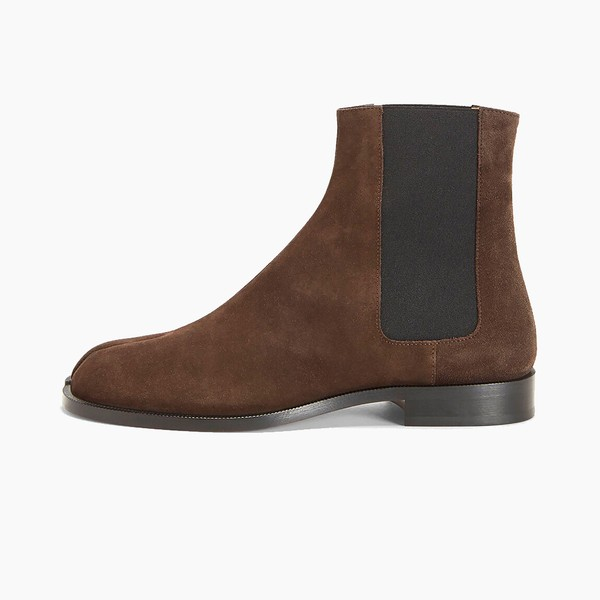 "Maison Margiela Tabi Chelsea Boots ""Brown"""