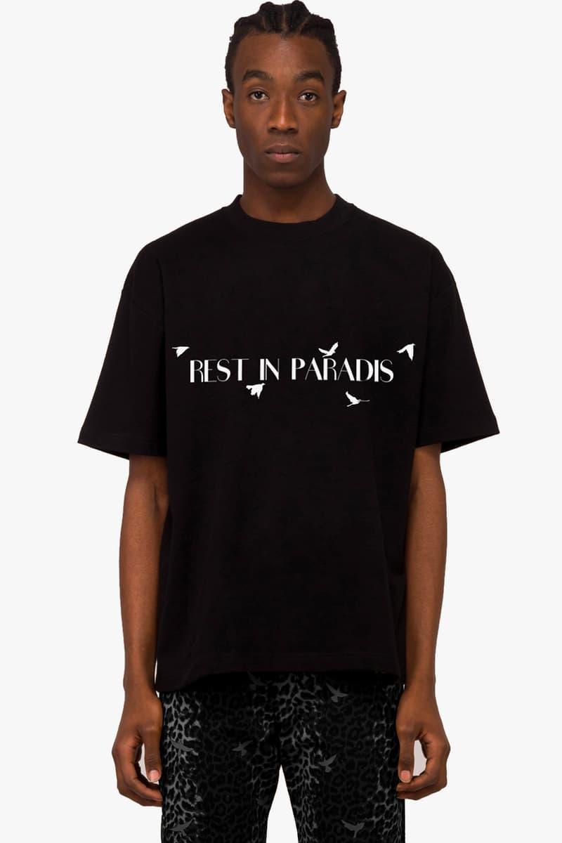 """3.PARADIS """"Rest In Paradis"""" #BlackLivesMatter T-Shirt Release Information Emeric Tchatchoua Black Visions Collective La Verité pour Adama Traoré George Floyd"""