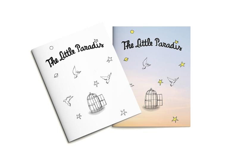 "3.PARADIS 'THE LITTLE BIRD' Drawing Book ""THE LITTLE PARADIS"" Series Montreal Children's Hospital Canada 'The Little Prince of Antoine de Saint-Exupéry' André Saraiva Invader Sarah Andelman Octavian Theophilus London Sarah Andelman Doctor Woo Javier Calleja Nadia Lee Cohen"
