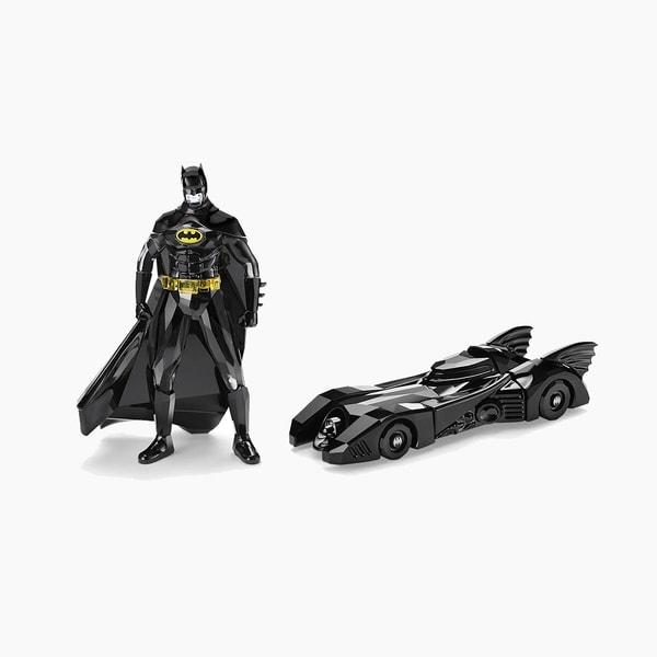 Swarovski Batman and batmobile Set