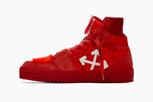 """Off-White™ Off Court 3.0 Sneakers """"Red"""""""