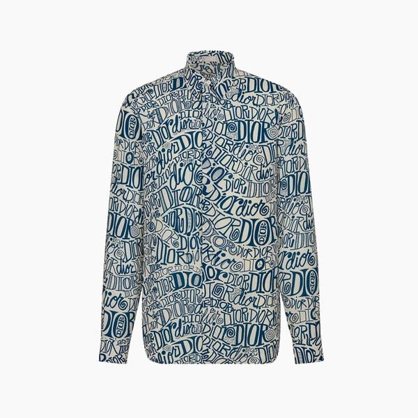 Dior Shawn Stussy Shirt