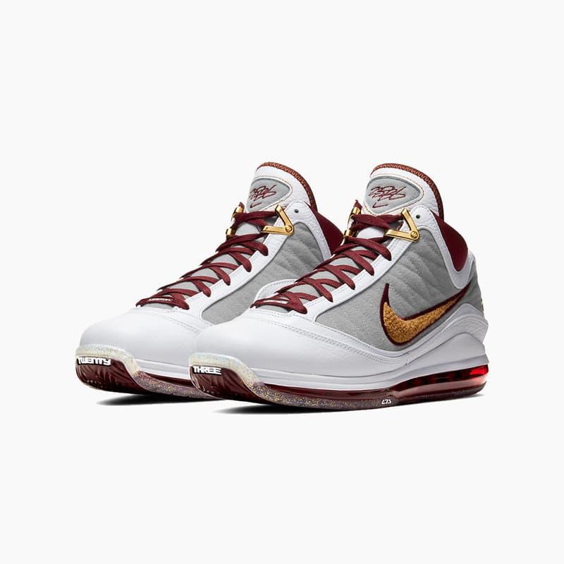 "Nike LeBron 7 ""MVP"" Sneaker Release Where to buy Price 2020"